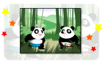 Screenshot: Panda Belly Bump Game