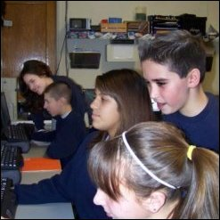 Woodridge Tweenangels (Group #2) Using Computers
